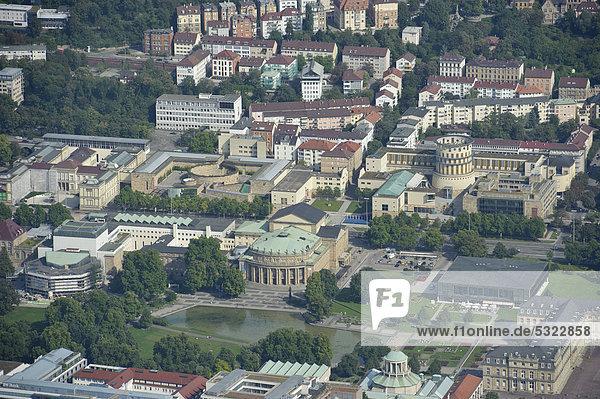 Luftbild  Stuttgart  Baden-Württemberg  Deutschland  Europa