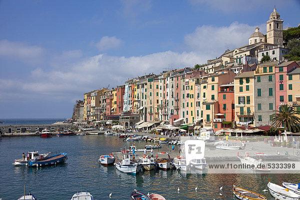 Hafen Europa Italien Ligurien Provinz La Spezia