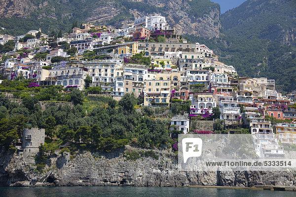 Europa UNESCO-Welterbe Amalfiküste Italien
