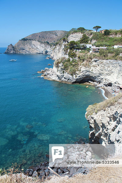 Europa Golf von Neapel Ischia Italien