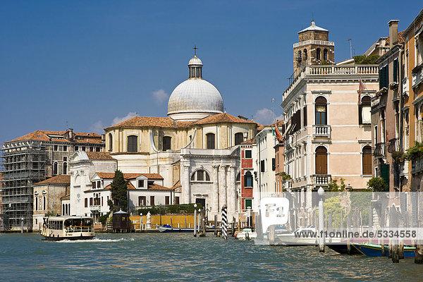 Europa Canale Grande Italien