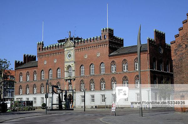Rathaus von Odense  Dänemark  Europa