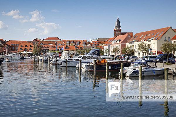 Hafen Europa Geschichte Mecklenburg-Vorpommern Ortsteil Deutschland Waren