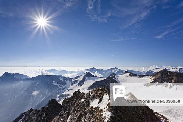 Hoher Angelus  Ortlergebiet  Südtirol  Italien  Europa