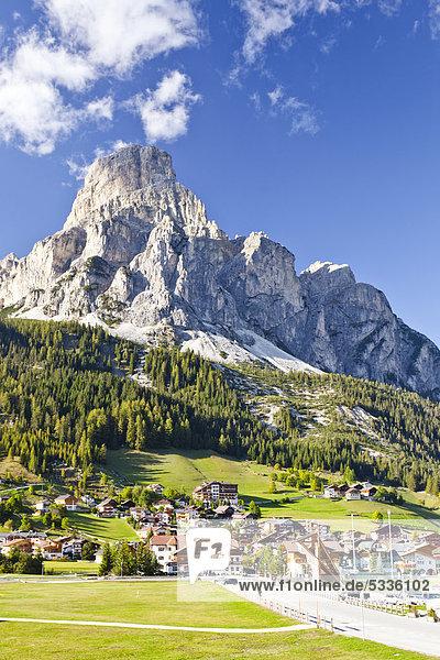 Sassongher  Corvara  Dolomiten  Trentino  Italien  Europa Sassongher, Corvara, Dolomiten, Trentino, Italien, Europa