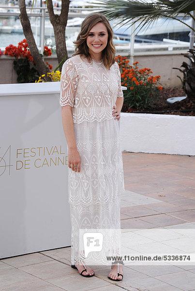 Elizabeth Olsen beim Fototermin zu MARTHA MARCY MAY MARLENE  64. Internationale Filmfestspiele von Cannes  Frankreich  Europa