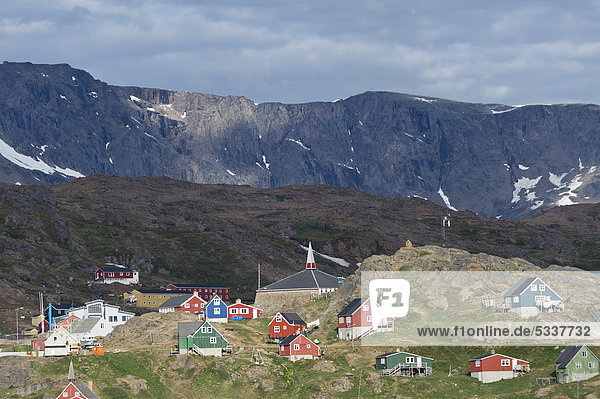 Gebäude Tasiilaq Grönland