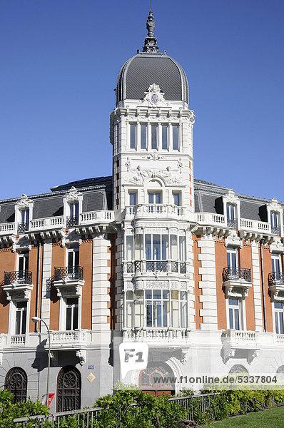 Royal Asturian Mining Company  Plaza de Espana  Altstadt  Madrid  Spanien  Südeuropa