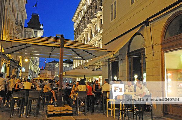 Restaurant Platz Italien Triest