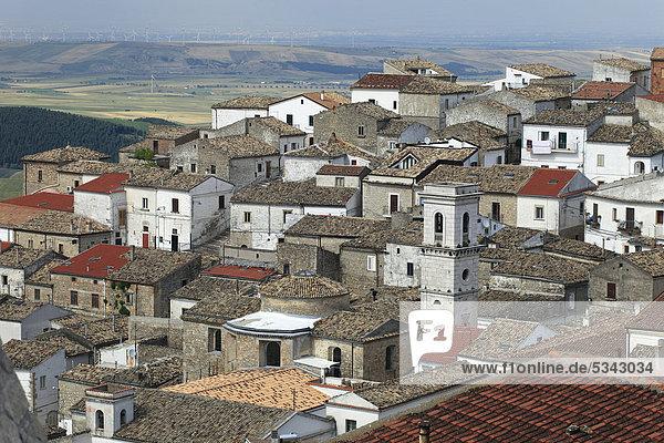 Italy  Apulia  Bovino  historical center