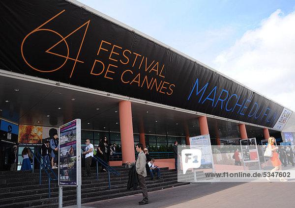 Messegelände  Internationale Filmfestspiele  Cannes  CÙte díAzur  Frankreich  Europa