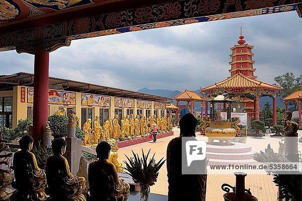 Teamwork  10  Buddha  China  Geographie  Hongkong  neu  Zinn