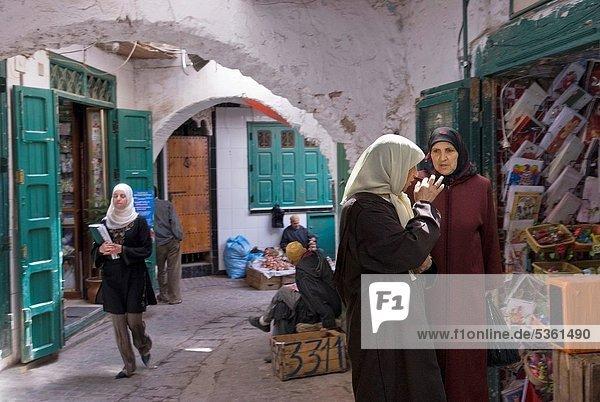 medina of Tetouan  Rif mountains  Morocco