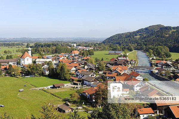 Europa Bayern Deutschland Oberbayern