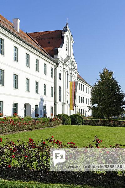 Ehemalige Benediktinerabtei Rott am Inn  Oberbayern  Bayern  Deutschland  Europa