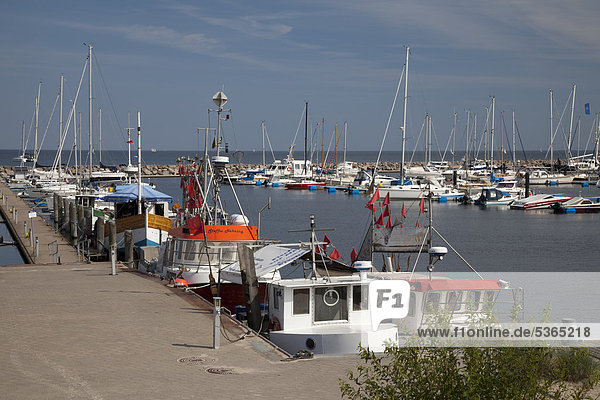 Hafen Europa Deutschland Mecklenburg-Vorpommern