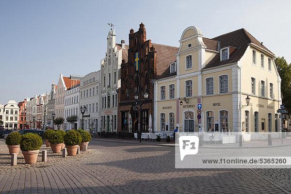 Europa Deutschland Mecklenburg-Vorpommern Wismar