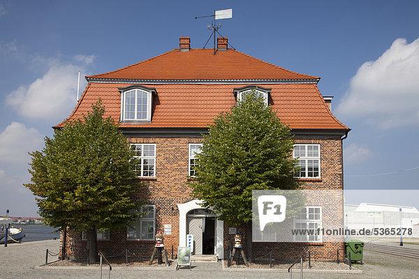Baumhaus building  port  Wismar  Mecklenburg-Western Pomerania  Germany  Europe  PublicGround