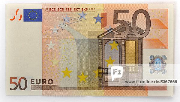 50 euro geldschein banknote vorderseite lizenzpflichtiges bild bildagentur f1online 5367666. Black Bedroom Furniture Sets. Home Design Ideas
