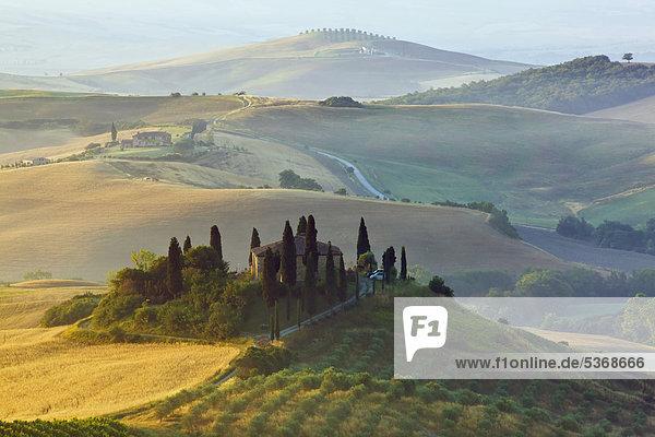 Europa Italien Toskana San Quirico d'Orcia