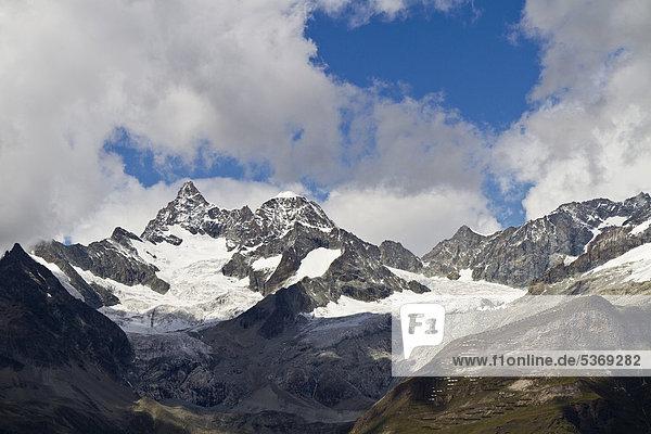 Europa Schweiz Zermatt Kanton Wallis
