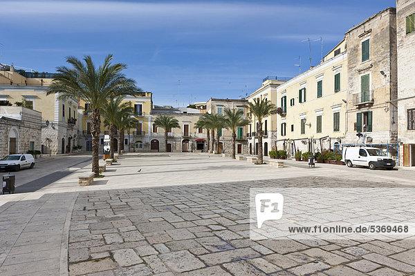 Europa Apulien Italien Trani