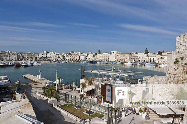 View over Trani  Apulia  Southern Italy  Italy  Europe