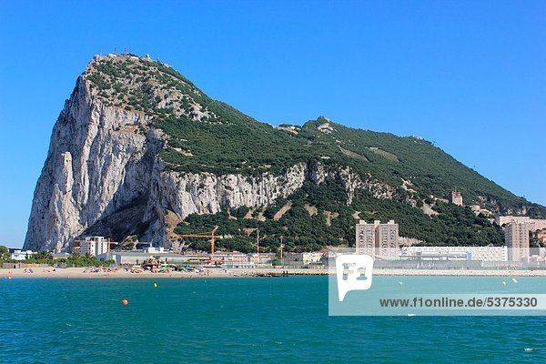 Felsbrocken Ansicht Cadiz Gibraltar Spanien