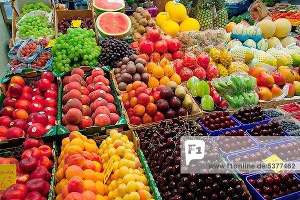 Blumenmarkt  Europa  Frucht  Halle  Deutschland