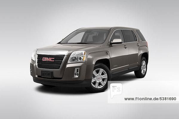 frontal Ansicht Flachwinkelansicht General Motors Winkel braun Gelände
