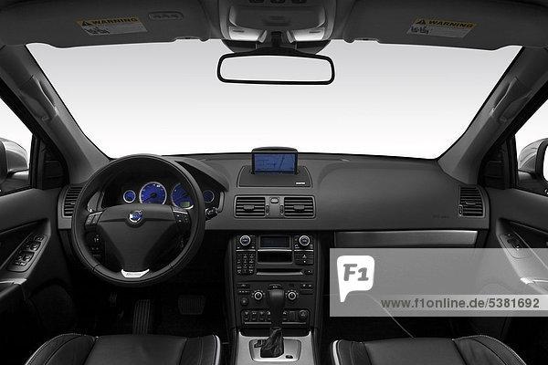 weiß Design Lenkrad Volvo Mittelkonsole Armaturenbrett