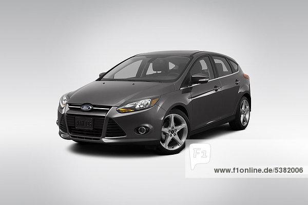 Fokus grau frontal Ansicht Flachwinkelansicht Winkel Ford