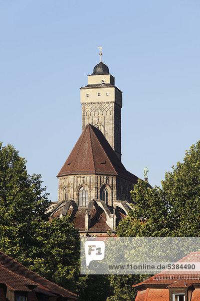 Kirche Unsere Liebe Frau  Obere Pfarre  Bamberg  Oberfranken  Franken  Bayern  Deutschland  Europa  ÖffentlicherGrund