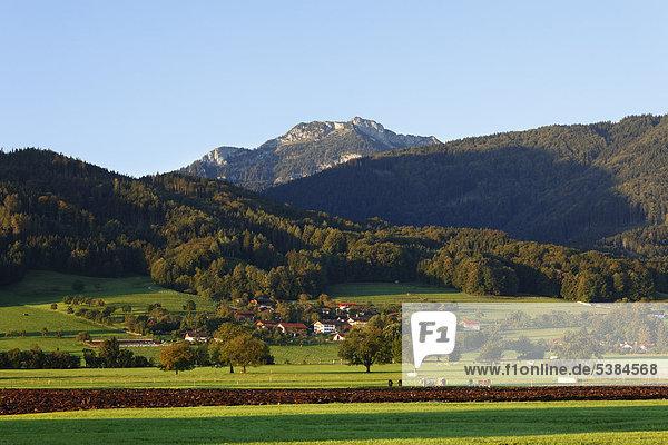 Berg Breitenstein im Mangfallgebirge  Derndorf  Gemeinde Bad Feilnbach  Oberbayern  Bayern  Deutschland  Europa  ÖffentlicherGrund