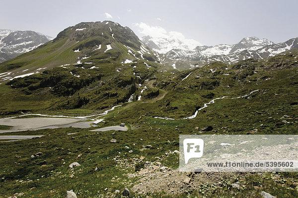 Kaunertal  Tirol  Österreich  Europa