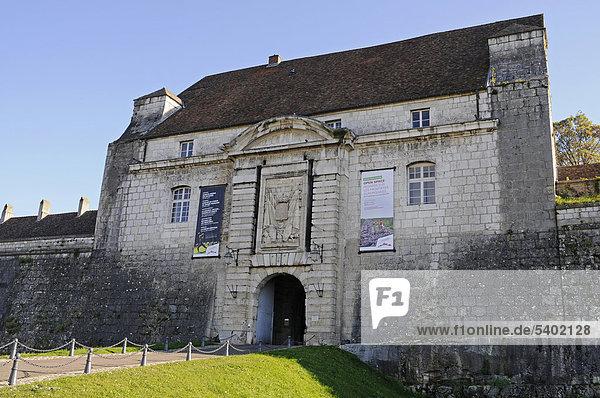 La Citadelle  Zitadelle  Festungsanlagen von Vauban  UNESCO Weltkulturerbe  Besancon  Departement Doubs  Franche-Comte  Frankreich  Europa  ÖffentlicherGrund
