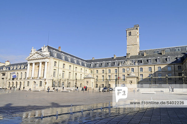 Ducal palace  city hall  Place de la Liberation Square  Dijon  Cote-d'Or  Bourgogne  Burgundy  France  Europe  PublicGrounds