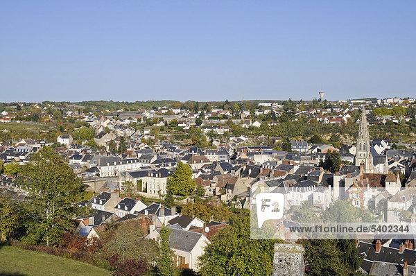 Argenton-sur-Creuse  Gemeinde  Chateauroux  Departement Indre  Centre  Frankreich  Europa  ÖffentlicherGrund