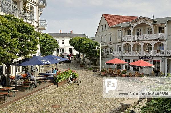 Europa Deutschland Mecklenburg-Vorpommern Rügen Saßnitz