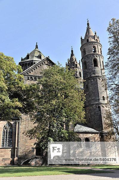 Wormser Dom  erbaut von 1130 bis 1181  Worms  Rheinland-Pfalz  Deutschland  Europa