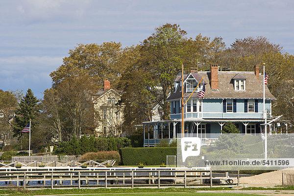 Hauser Im Georgianischen Stil In Newport Rhode Island New England