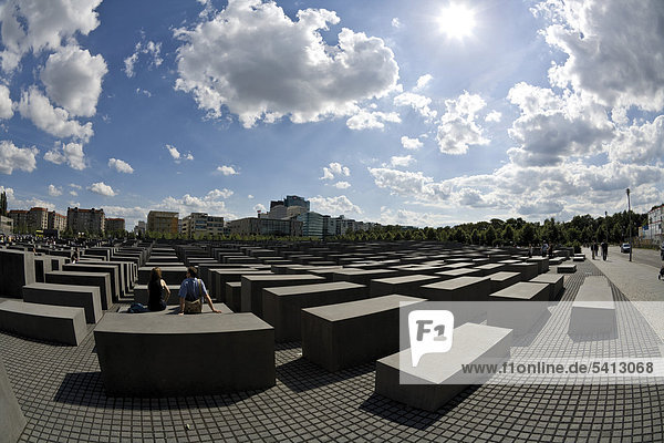 Memorial for the murdered Jews of Europe  Berlin  Germany  Europe