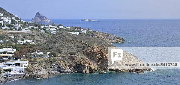 Panarea  Liparische Inseln  Sizilien  Italien  Europa