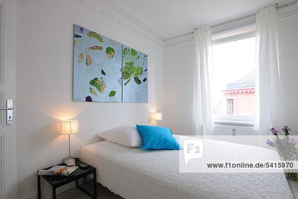 Helligkeit Schlafzimmer modern