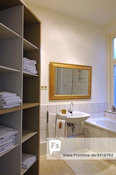 Badezimmer Handtuch Regal