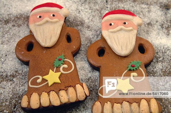Mann Weihnachten Lebkuchen 2