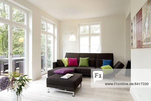 Helligkeit Zimmer Wohnzimmer modern