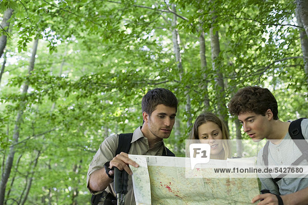 Wandererberatungskarte