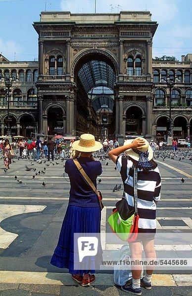 Galleria Vittorio Emanuele II  Mailand  Lombardei  Italien