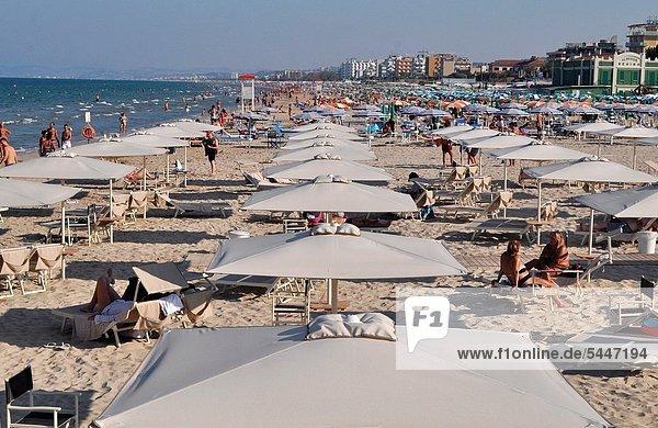 Strand  Italien  September